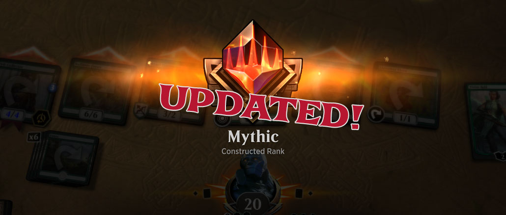 How to Reach Mythic Rank for the 1st Time in MTG Arena
